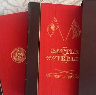 Battle of Waterloo - Commemorative Book